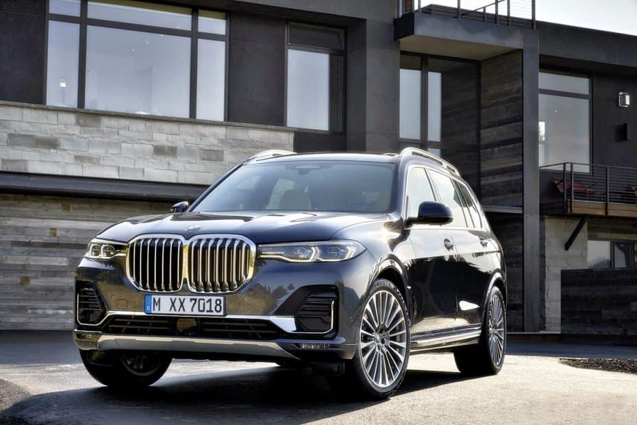 Todos los precios del nuevo BMW X7 para España