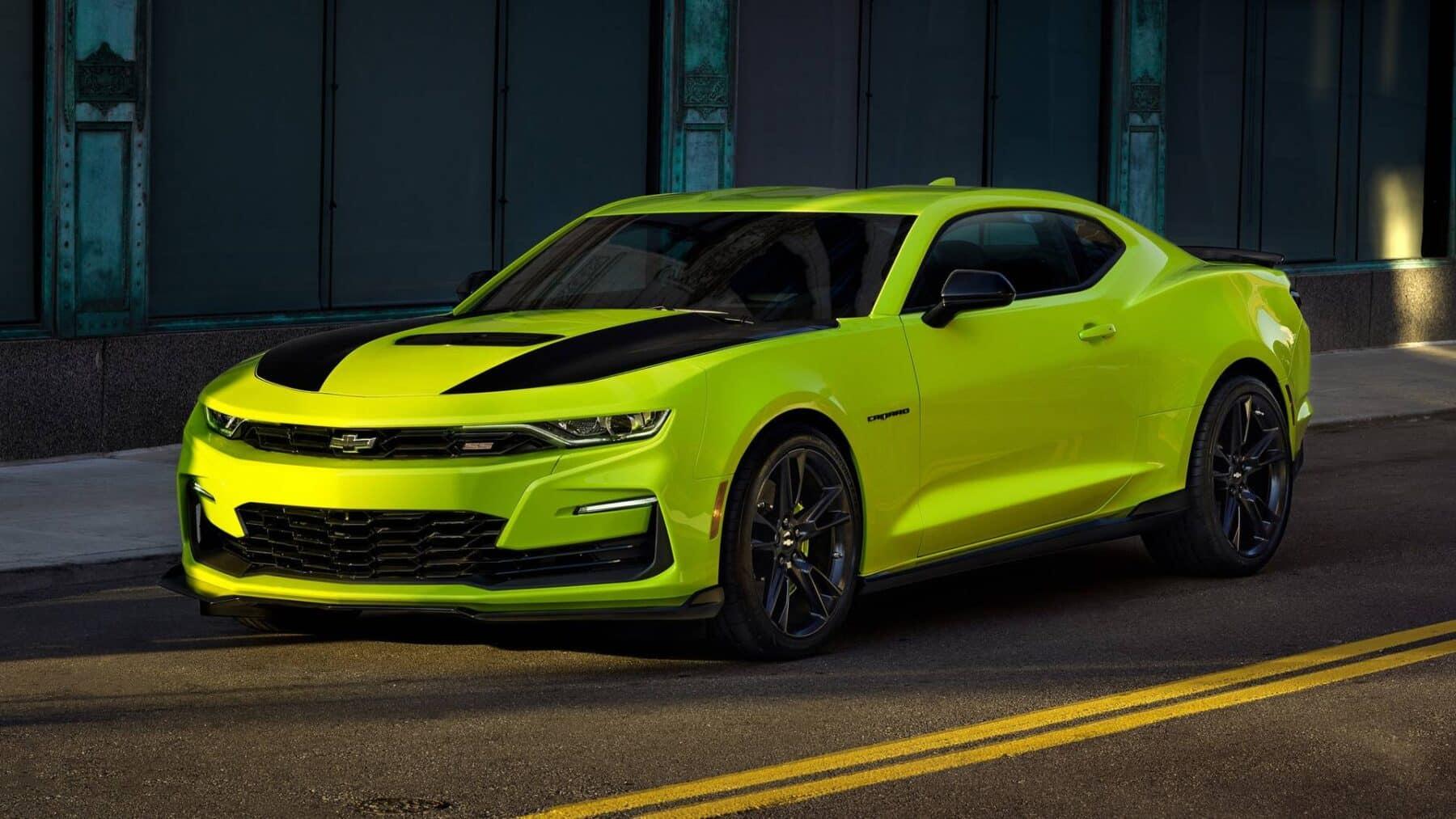 El Chevrolet Camaro se renueva sutilmente de cara a 2019