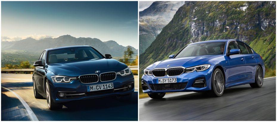 Comparación visual BMW Serie 3 2019: Juzga tú mismo cuánto ha cambiado el sedán alemán
