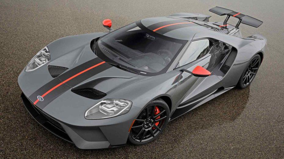 Así es el nuevo Ford GT Carbon Series: Una edición limitada más ligera para asaltar el circuito