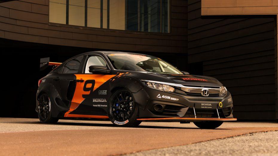 El Deep Orange 9 es un salvaje Honda Civic de 600 CV… ¡Creado por estudiantes!