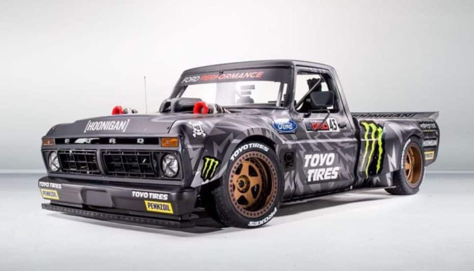 El nuevo juguete de Ken Block: Un impresionante «Hoonitruck» con corazón de Ford GT LM
