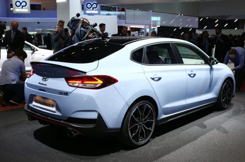 Así lucen al natural los 275 CV del Hyundai i30 Fastback N: Un 5 puertas único en su especie