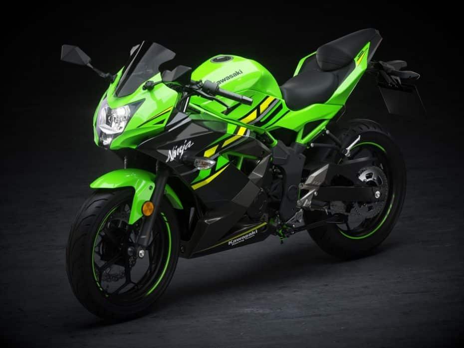 Kawasaki Ninja 125: Una estética poderosa para conquistar la ciudad sin carnet