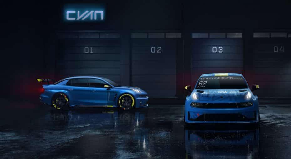 LYNK & CO se aventura en la competición junto a Cyan Racing: Veremos un modelo de calle con 500 CV