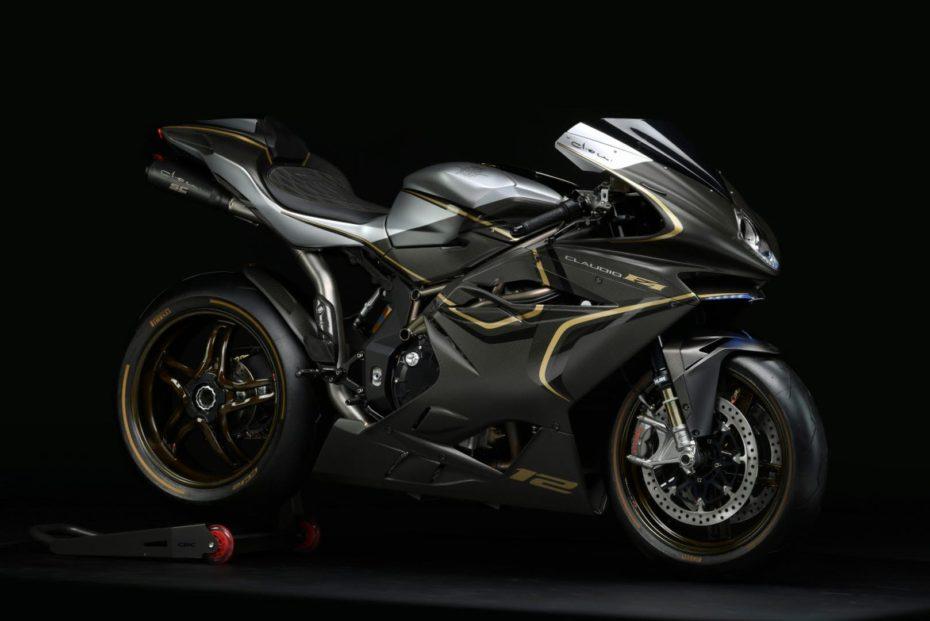 La nueva MV Agusta F4 Claudio es una moto de ensueño en forma de edición limitada