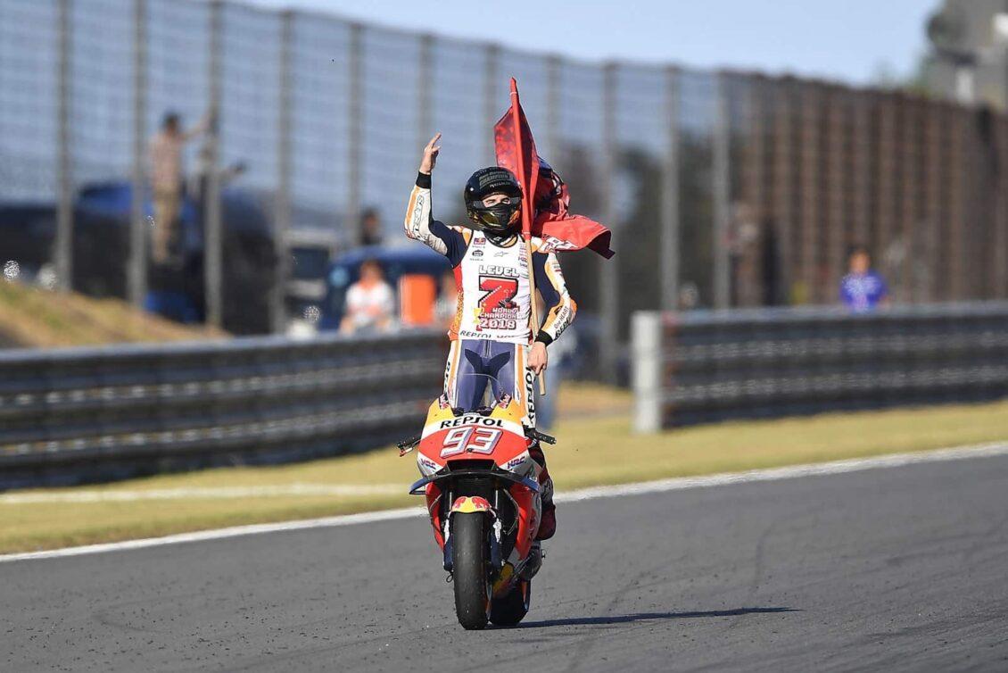 Con tan sólo 25 años, Marc Márquez acaba de lograr su quinto título de MotoGP