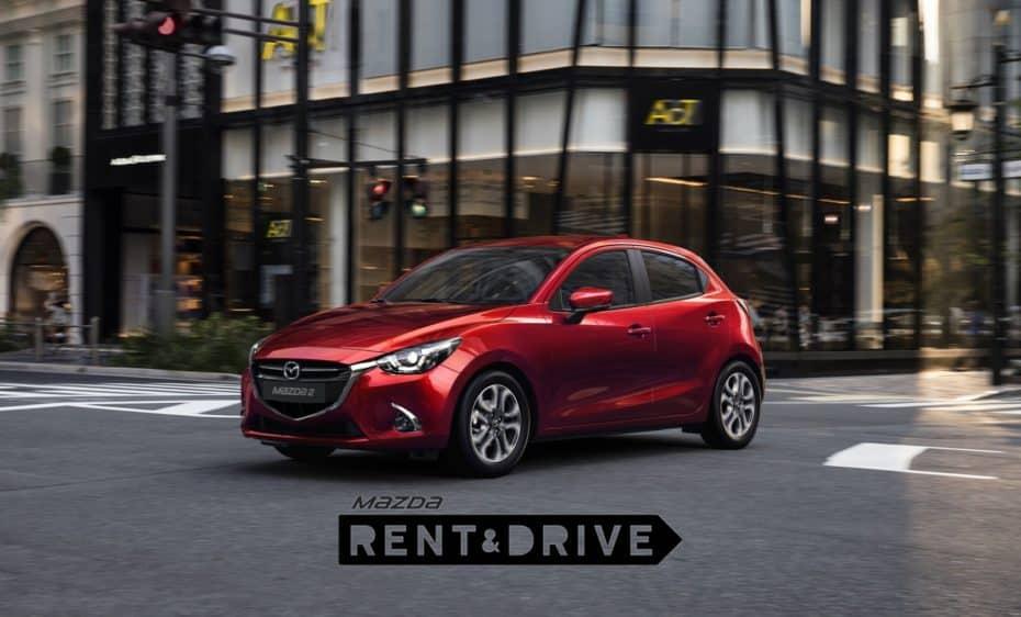 Mazda Rent&Drive: Tu coche sin preocupaciones, imprevistos ni complicaciones desde 6€/día