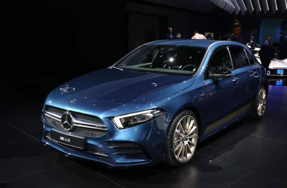 Así es el Mercedes-AMG 35 4MATIC en directo: Rivalizará con el S3, el Golf R y el M140i