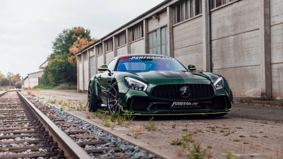 Si no puedes esperar al Mercedes-AMG GT R Black Series, Fostla te ofrece una solución de 650 CV