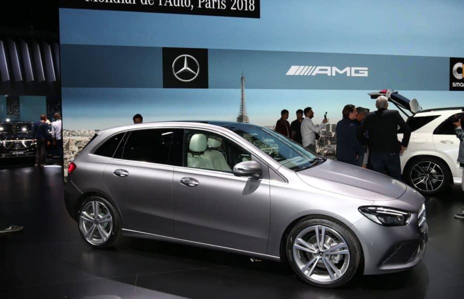 El Mercedes-Benz Clase B luce nuevo aspecto en París: Guarda su esencia pero mejora en todos los sentidos