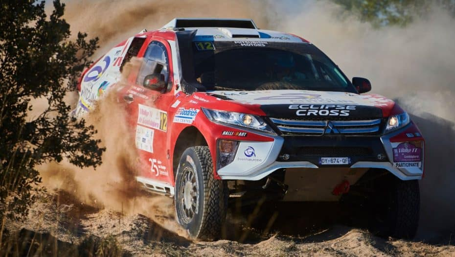 Así es el nuevo Mitsubishi Eclipse Cross con el que correrá Cristina Gutiérrez su tercer Dakar