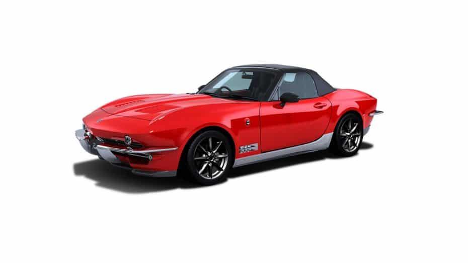¿MX-5 o Corvette? El Mitsuoka Rock Star es una creación única 'made in' Japón