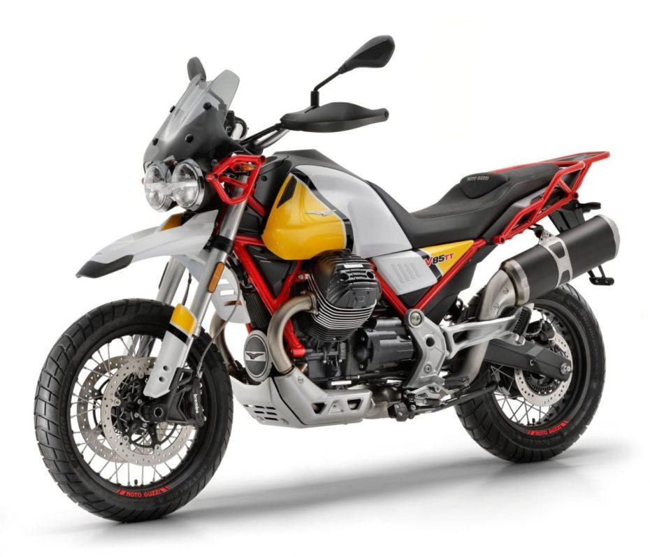 La nueva Moto Guzzi V85 TT es tu compañera ideal de viaje