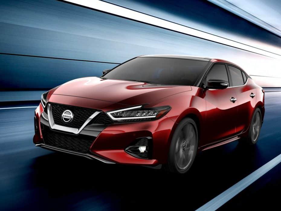 El Nissan Maxima se renueva de cara a 2019: El sedán nipón que no te importaría ver en Europa
