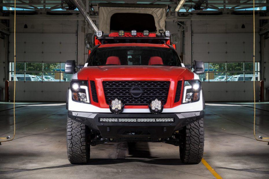 El Nissan Ultimate Service Titan es un monstruoso pick-up diseñado para salvar vidas
