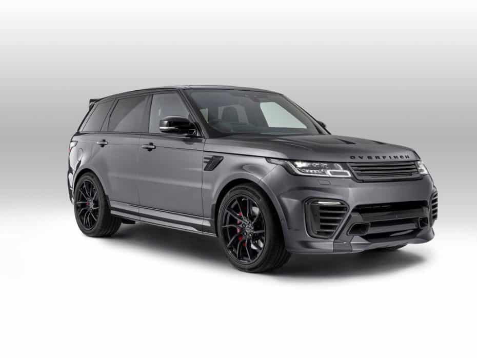 ¿Buscas un Range Rover Sport más radical? Overfinch tiene la solución, pero no es barato…