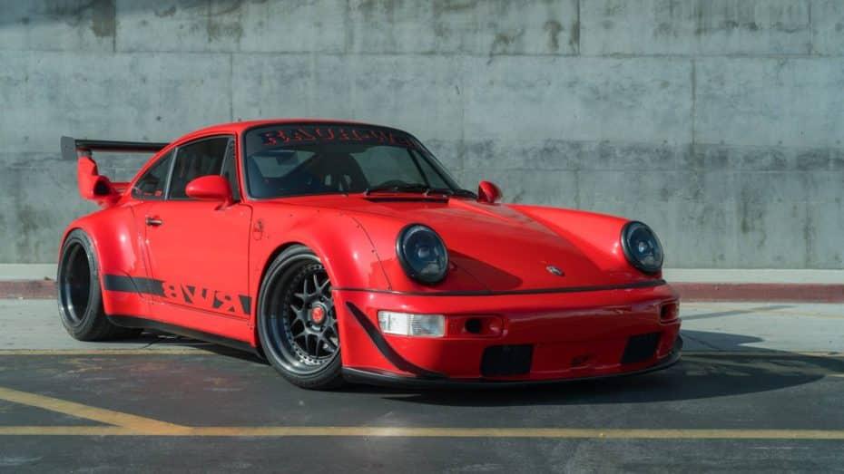 El salvaje Porsche 911 964 Turbo de RWB es todo un clásico actualizado con 400 CV