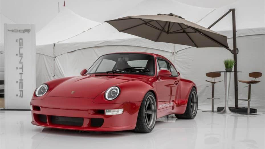 Gunther Werks nos muestra su última joya: Un flamante Porsche 911 993 de 430 CV