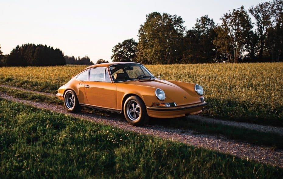 ¿Te gustan los clásicos? Pues ojo a este rarísimo prototipo del Porsche 911 Carrera RS 2.7
