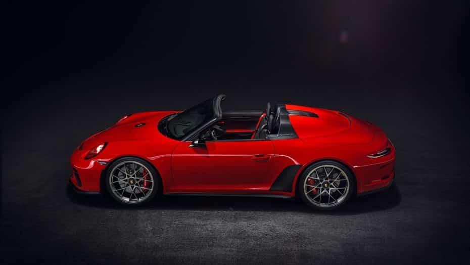 El Porsche 911 Speedster Concept llegará a producción en 2019: 500 CV y pura furia hasta 9.000 rpm