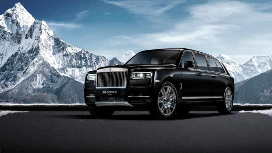 ¿Buscas limusina blindada? Klassen te ofrece este Rolls-Royce Cullinan por 1,8 millones de euros