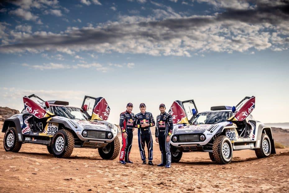 MINI y X-Raid hacen oficial el fichaje de Sainz, Despres y Peterhansel de cara al Dakar 2019
