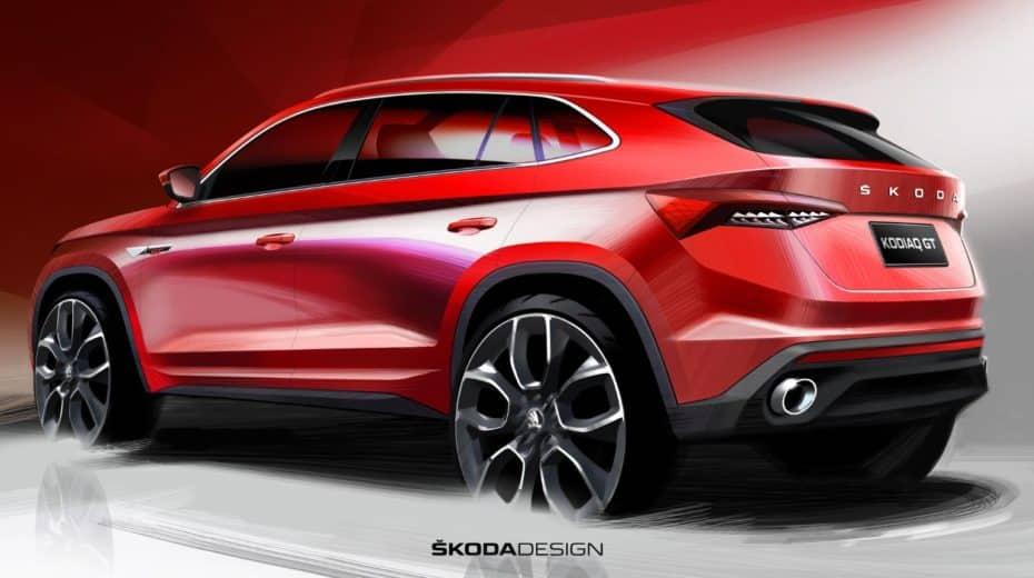 Así es el Škoda Kodiaq GT: La alternativa «coupé» del Kodiaq que llegará a China