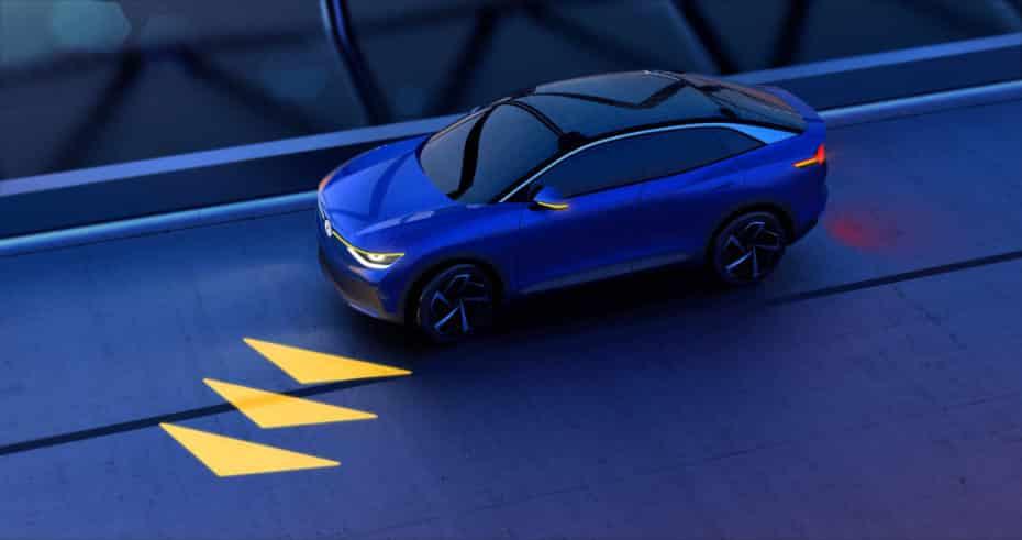Volkswagen reinventará la iluminación del futuro para el coche autónomo