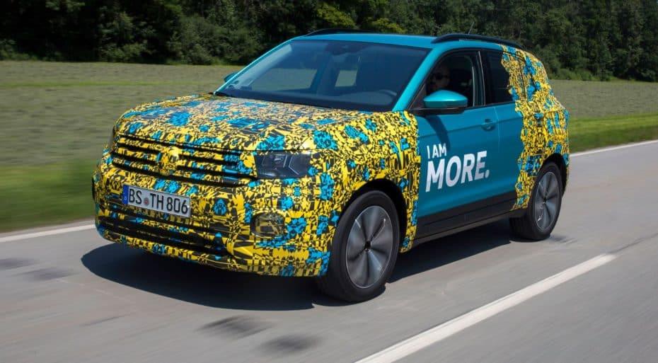 El Volkswagen T-Cross más cerca de ser realidad: Faltan 15 días para su presentación