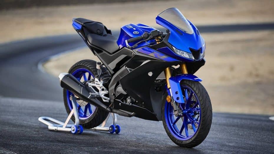 Ya está aquí la nueva Yamaha YZF-R125 2019: Deportividad y adrenalina sin carnet de moto