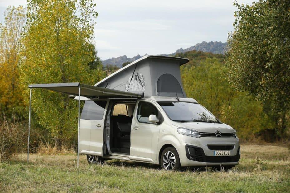 El Citroën Spacetourer by Tinkervan, ya a la venta