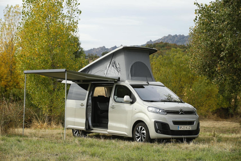 Furgoneta Citroën SpaceTourer camperizada