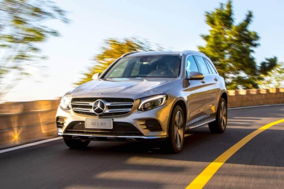 El Mercedes GLC estrena versión alargada
