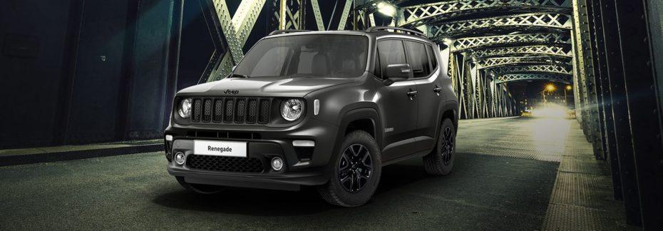 La serie Night Eagle aterriza de nuevo en la gama Jeep Renegade