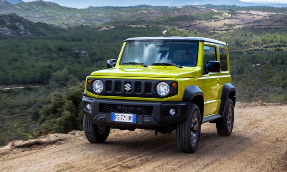 Toda la producción del Suzuki Jimny está vendida hasta marzo