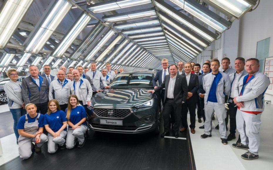 El SEAT Tarraco ya se produce en Alemania