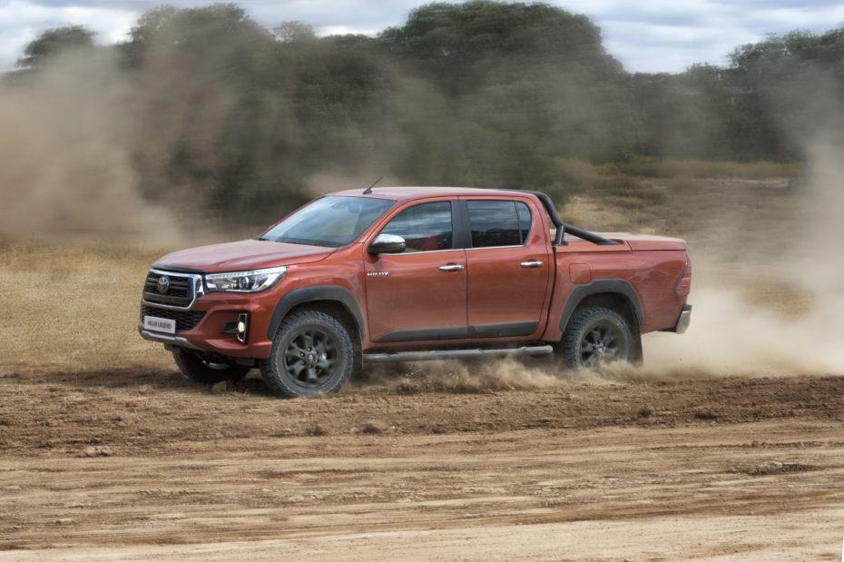 El Toyota Hilux dominó las ventas de pick ups en España en 2018