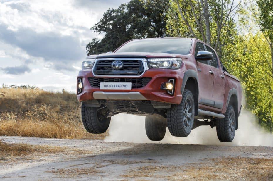 "Nuevo Toyota Hilux ""Legend Raider"""