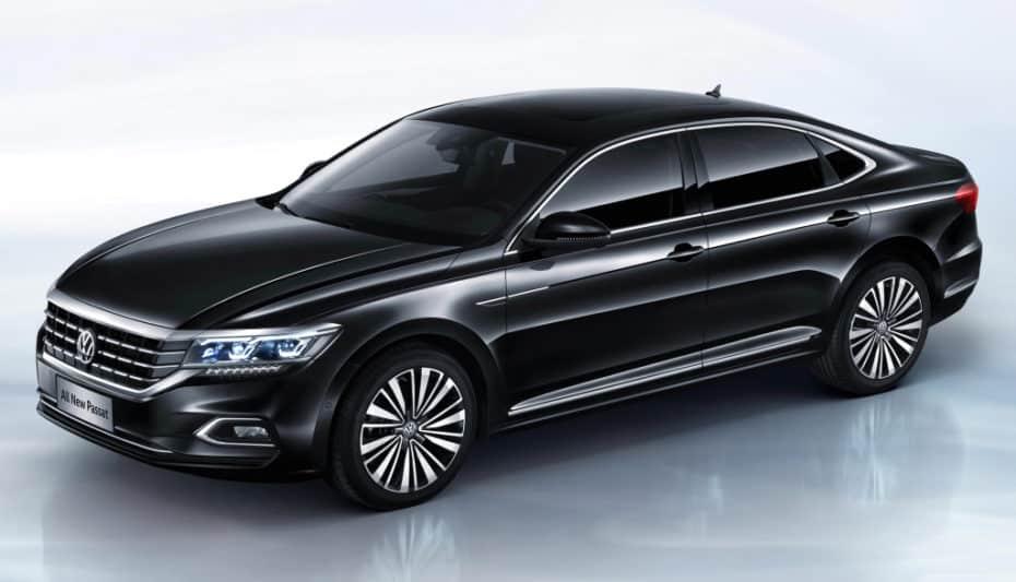 Así es el nuevo Volkswagen Passat para China