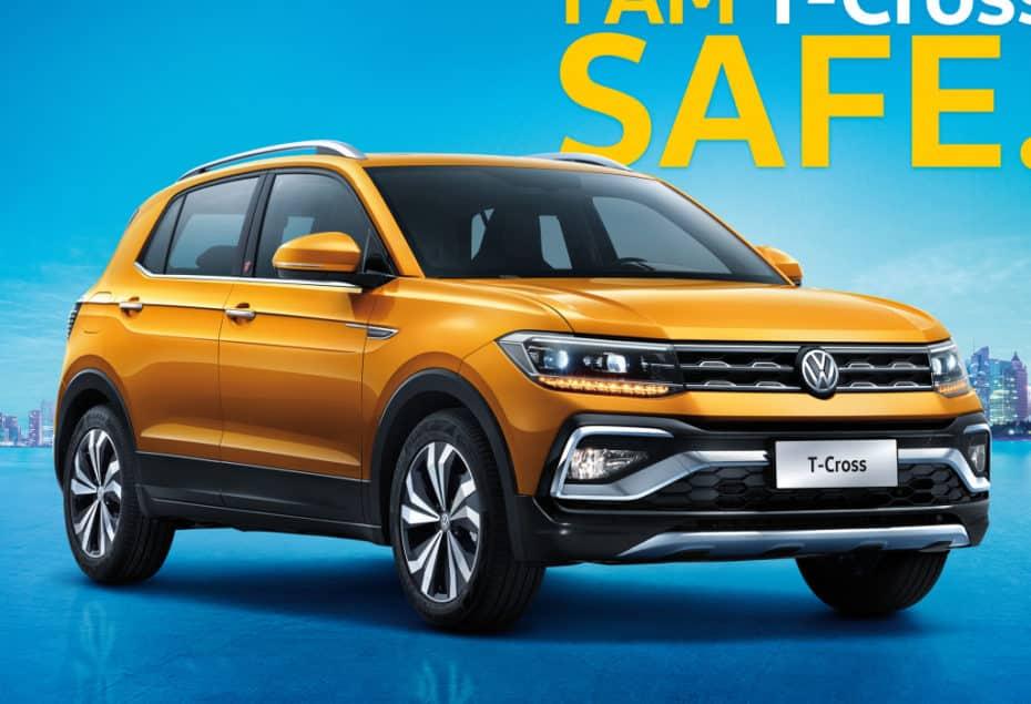 El VW T-Cross para China gana imagen off-road