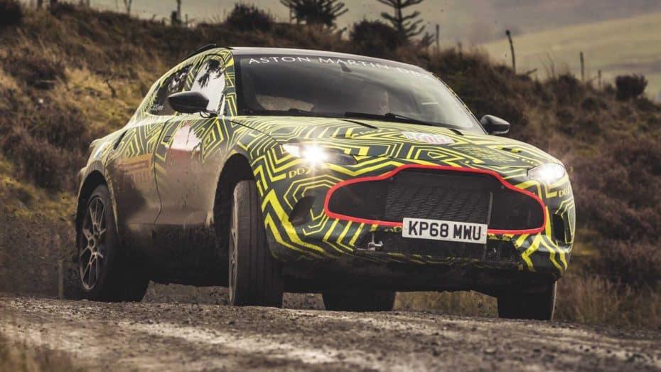 El Aston Martin DBX será una realidad en 2019 y ya conocemos las primeras imágenes oficiales