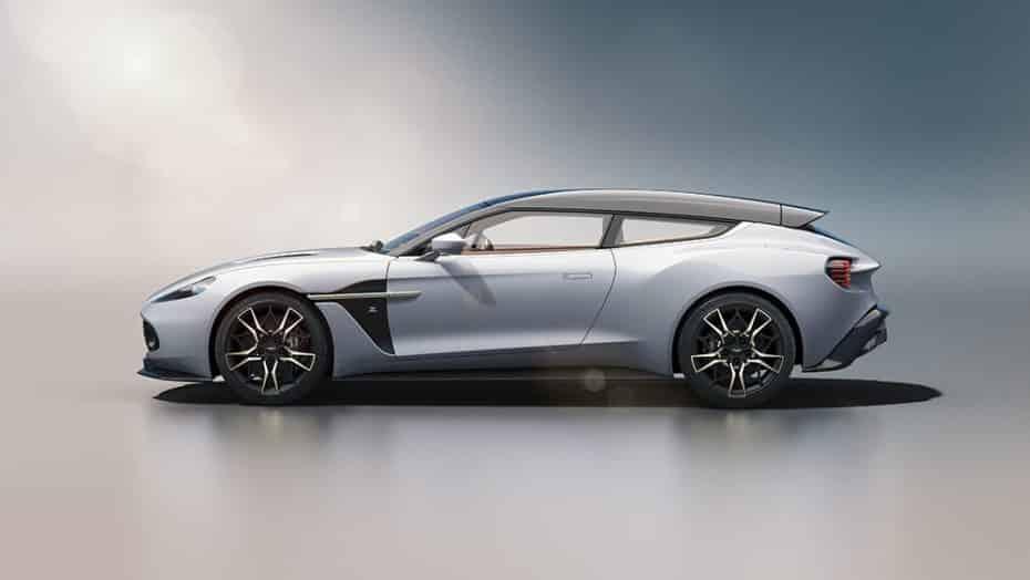 El Aston Martin Vanquish Zagato Shooting Brake es una obra de arte limitada a tan solo 99 unidades