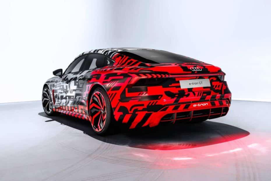 El Audi E-Tron GT se deja ver por primera vez en estas imágenes ¿Un A7 eléctrico?