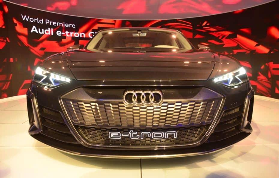Así de espectacular luce al natural el Audi e-tron GT Concept