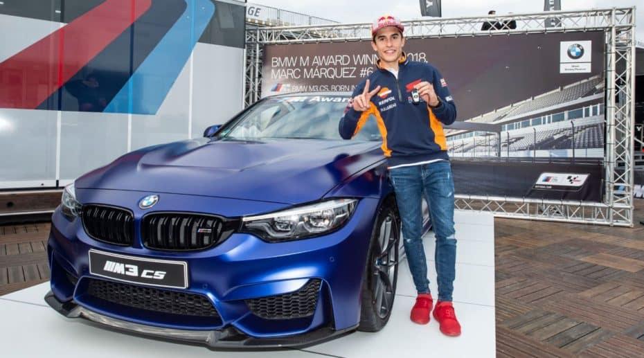 Márquez ya tiene su nuevo juguete: Un BMW M3 CS con 460 CV