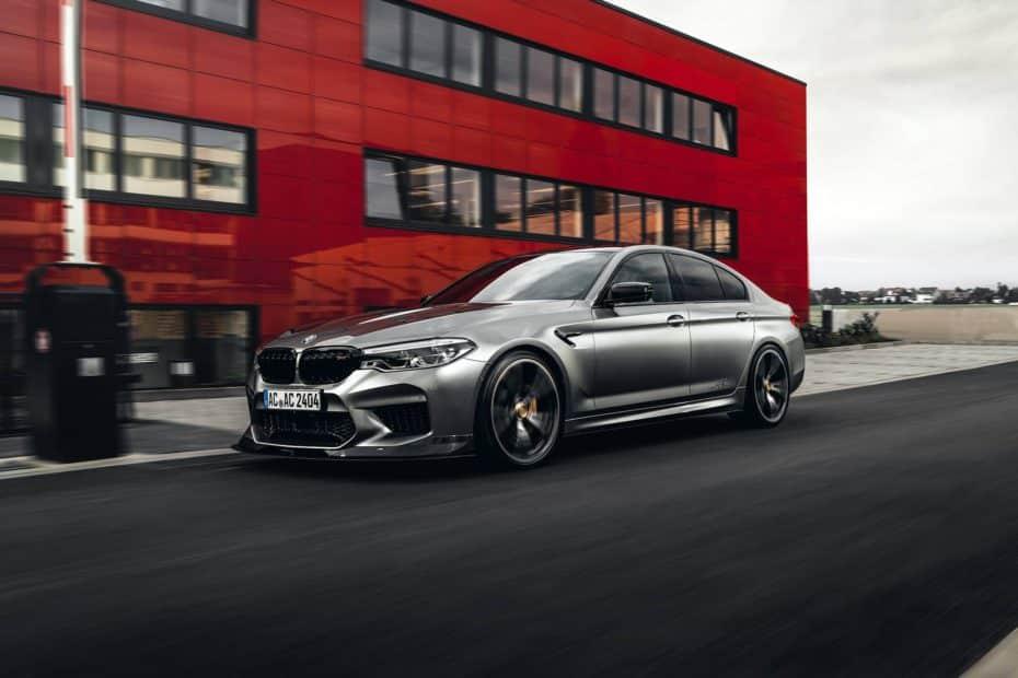 AC Schnitzer ha creado un BMW M5 más rápido, agresivo y capaz: Desearás tenerlo en tu garaje