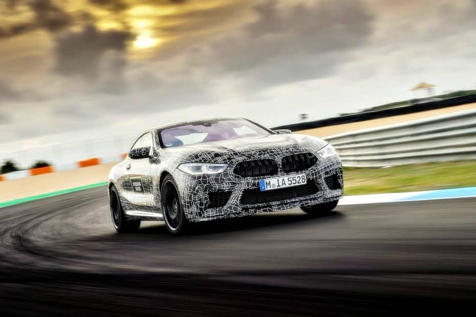 El BMW M8 ya está en camino y va a ser tan salvaje como imaginábamos: ¡591 CV de Músculo!