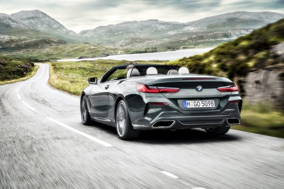 ¡Oficial!: Así de espectacular es el nuevo BMW Serie 8 Cabrio
