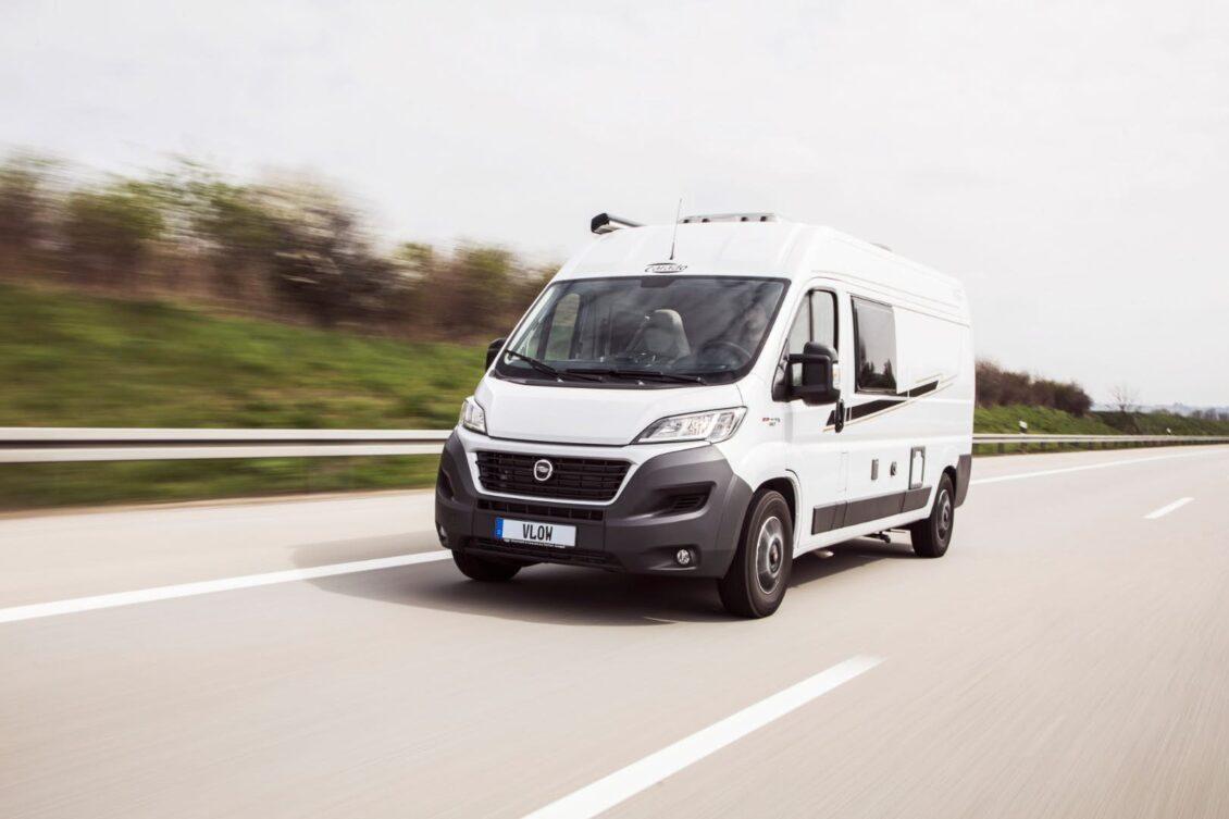 Desde hoy, las autocaravanas y las furgonetas camper podrán circular a 120 km/h en autopista
